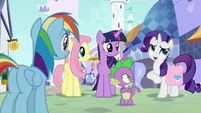 "Rarity ""everypony is a little jumpy"" S9E24"