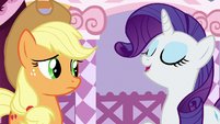 """Rarity """"that's why you're here"""" S7E9"""