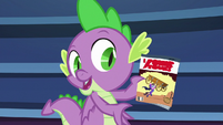 "Spike ""can't leave the Power Ponies"" S9E26"