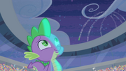 Spike watching fireworks explode S4E24