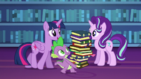 "Twilight ""tackle a friendship lesson today"" S6E21"