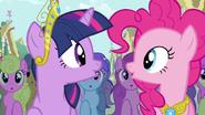 Twilight & Pinkie Pie true, true friend S3E13