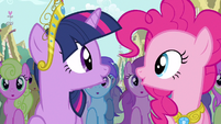 Twilight & Pinkie Pie true, true friend S3E13