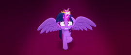 Twilight Sparkle's concentration breaks MLPTM