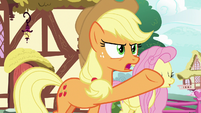 "Applejack ""it ain't even saucin' season!"" S8E18"