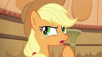 Applejack --would be better off if they left-- S6E20