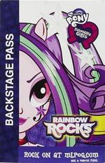 Aria Blaze Equestria Girls Rainbow Rocks Backstage Pass