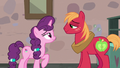 Big Mac and Sugar Belle smile at each other S7E8.png