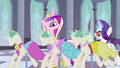Cadance with the other dresses S2E25.png