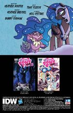 FIENDship is Magic issue 4 credits page