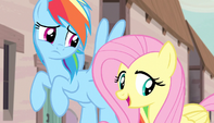 "Fluttershy ""they all seem perfectly happy"" S5E1"