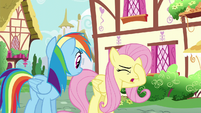 Fluttershy --my parents keep letting him-- S6E11