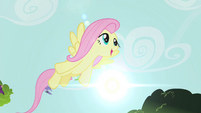 Fluttershy flying S4E14