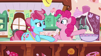"Mrs. Cake ""Cheerilee ordered cupcakes"" S9E13"