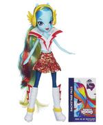 Muñeca de Rainbow Dash Equestria Girls Rainbow Rocks