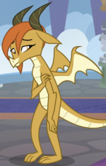 Ocellus dragon form ID S8E1