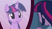 Pônei Twilight no espelho EG