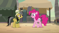 Pinkie Pie -glad you're back to your old self- S7E18