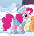 Pinkie Pie Roupa de Inverno