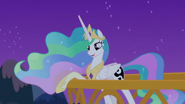 "File:Princess Celestia ""everypony's asleep"" S7E10.png"