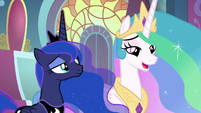 "Princess Celestia ""of course you are"" S9E1"