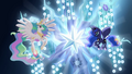 Princess Celestia and Princess Luna with Tree of Harmony S04E02.png