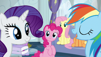 Rainbow --report to Wonderbolts headquarters-- S6E7