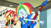 "Rainbow Dash ""we would totally rock it"" EG3"