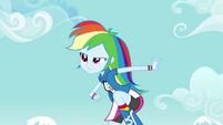 Rainbow Dash humana EG