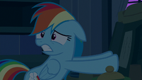 Rainbow Dash scared of Big Mac and Granny Smith S6E15