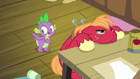 "Spike ""leave him in charge of her shop"" S8E10"