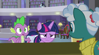 Spike asks where the return office is S9E5