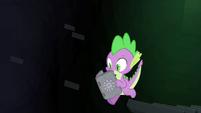 Spike falling S4E23