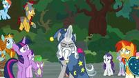 Star Swirl tries charging his magic again S7E26