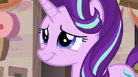 Starlight Glimmer smiling awkwardly S6E25