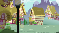 Tumbleweed tumbling away in Ponyville S4E26