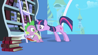 Twilight --imperative-- to notify Celestia S1E01
