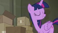 Twilight --wouldn't mind organizing-- S6E9