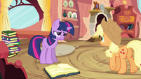 Twilight remembering that S3E9