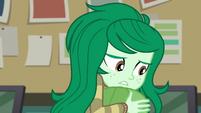 Wallflower Blush doesn't like confrontation EGFF
