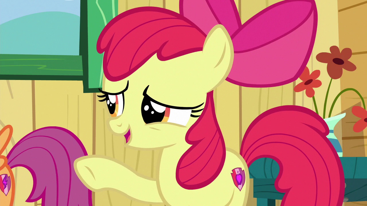 Image Apple Bloom You Dont Need A Symbol On Your Flank S6e19