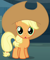 Apple Bloom as young Applejack S3E5