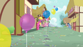 Cherry Berry and Noteworthy in Ponyville S4E12.png