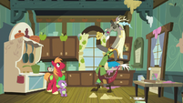 "Discord ""you owe me for this"" S8E10"