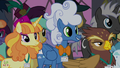 Fluffly Clouds listening to Princess Celestia S5E10.png
