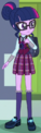 Human Twilight Sparkle academy uniform ID EG3