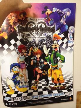 Kingdom Hearts 1.5 Remix Poster