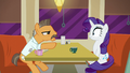 "Lede points at Rarity ""I'm gonna interview you and your friends"" S6E9.png"
