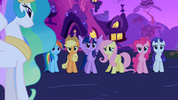 Mane 6 reaction shot S3E13
