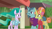 Mistmane and her parents S7E16